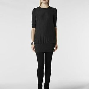 All Saints Kayo jumper dress silk and wool size 4